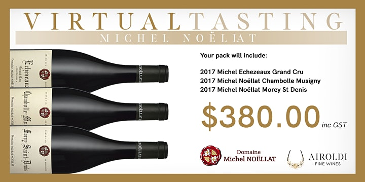 Virtual Tasting with Michel Noëllat | 12 MAY | 7-8 PM image