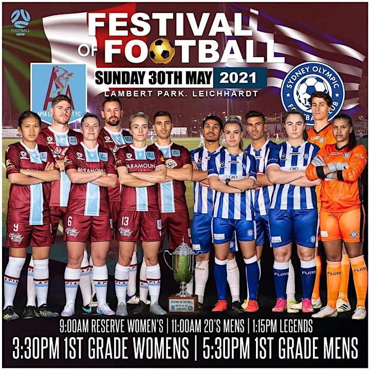 APIA Leichhardt FC Present 2021 Festival of football. image