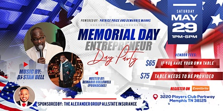 Memorial Weekend Entrepreneur Day Party tickets