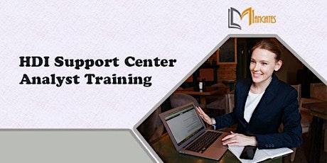 HDI Support Center Analyst 2 Days Virtual Live Training in San Antonio, TX tickets
