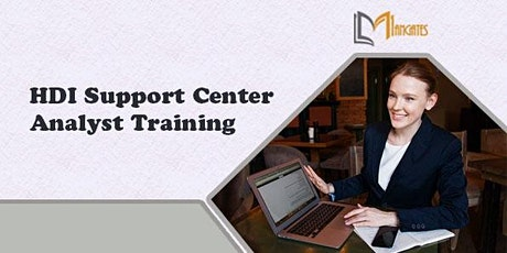 HDI Support Center Analyst 2Days Virtual Live Training in San Francisco, CA tickets
