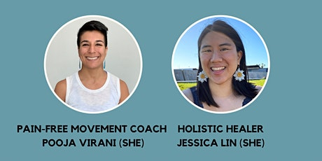 Myofascial Release & Yoga for Back Pain with Pooja Virani & Jessica Lin tickets