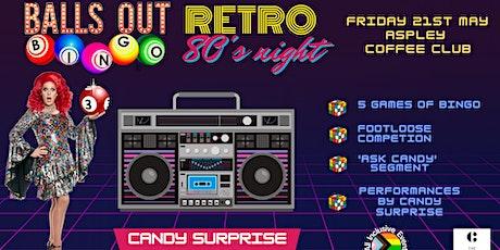 Drag Queen Bingo // Catagory is 80's tickets