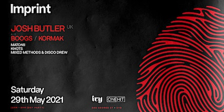 Imprint ft. Josh Butler, Boogs & Kormak tickets