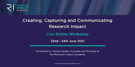 Creating, Capturing and Communicating Research Impact tickets