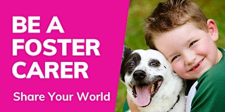 Live Foster Care Information Webinar - WA tickets