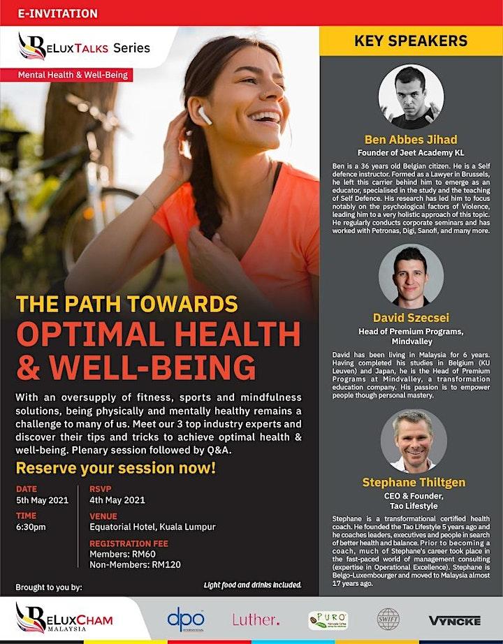 BeluxTalk:  Optimal Health & Well-Being image