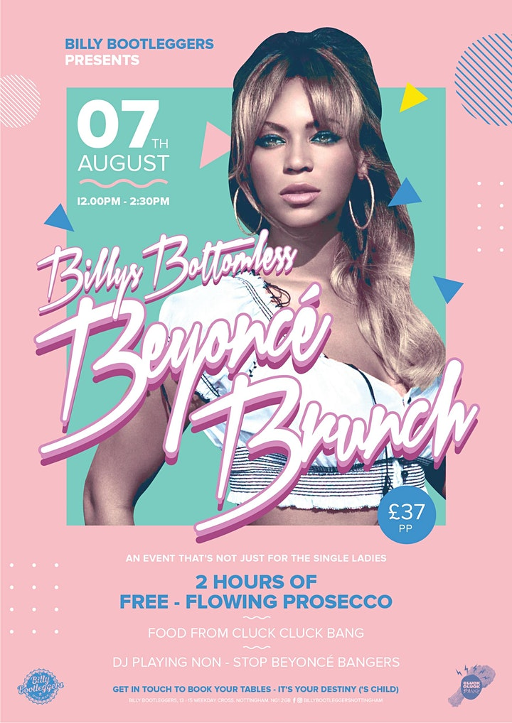 Billy's Bottomless Beyoncé Brunch image