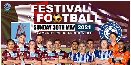 APIA Leichhardt FC Present 2021 Festival of football. tickets