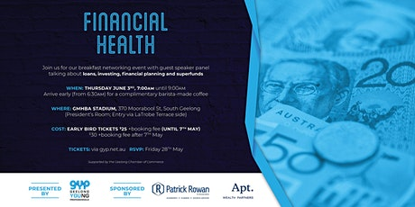 Financial Health Networking Breakfast tickets
