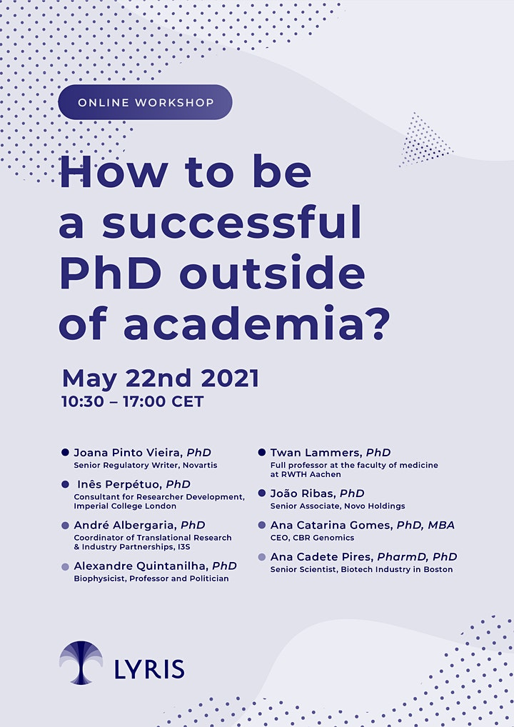 How to be a successful PhD outside of academia? image