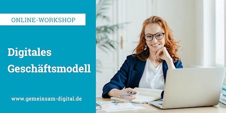 In zwei Tagen zum digitalen Geschäftsmodell Tickets