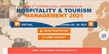 The 8th International Conference on Hospitality and Tourism Management (ICO bilhetes