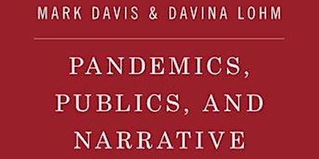 Pandemics, publics and narrative book launch tickets