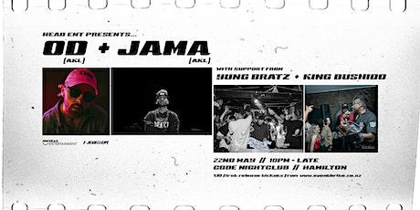 HEAD Entertainment presents: OD & Jama tickets