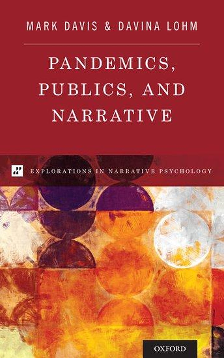 Pandemics, publics and narrative book launch image