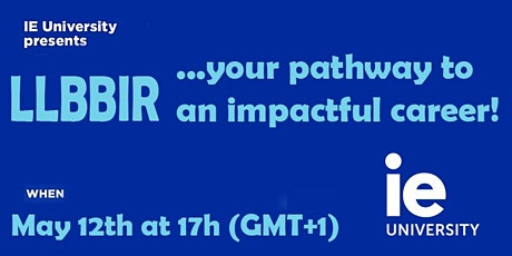 LLBBIR, your pathway to an impactful career tickets