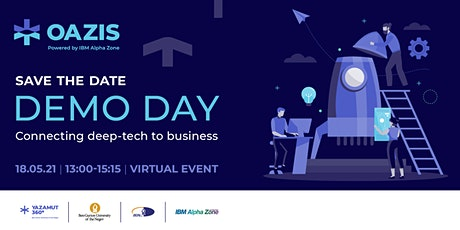 Oazis Demo Day- Connecting Deep Tech to Business tickets