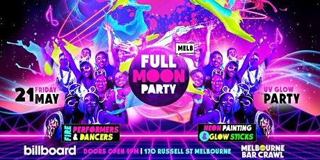 Full Moon Party Melbourne - May tickets