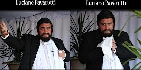 International  Pavarotti look and soundalike tribute 'Paul Michael' tickets