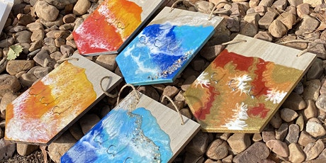 Create a creation, resin for beginners over 18's tickets