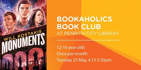 Bookaholics Book Club - Monuments tickets