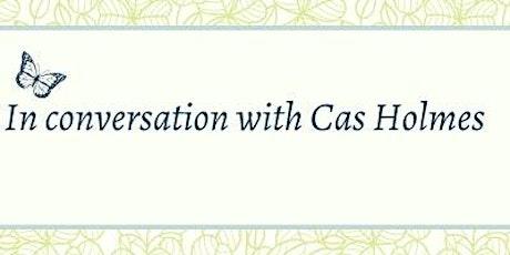 In conversation with Cas Holmes, Textile Artist tickets