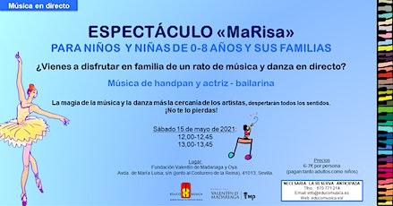 Espectáculo MaRisa - Pase 1 entradas