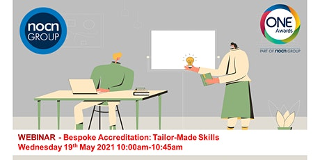 Bespoke Accreditation: Tailor-Made Skills tickets