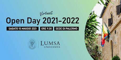 Open Day Virtuale di Orientamento - Università LUMSA - Sede di Palermo biglietti