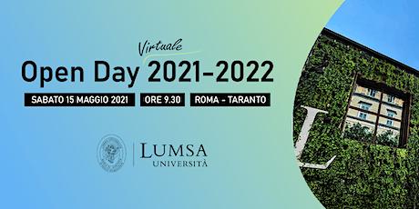 Open Day Virtuale - Università LUMSA - Sede di Roma tickets