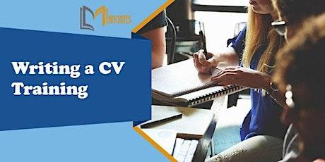 Writing a CV 1 Day Virtual Live Training in Christchurch tickets