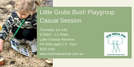 Little Grubs Casual Session tickets