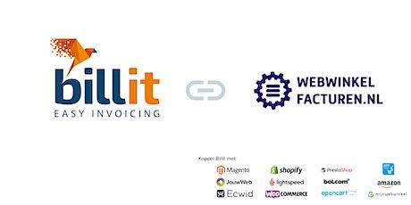 Webinar: Billit en Webwinkelfacturen.nl tickets