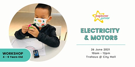 STEAM Discovery Workshop - Electricity & Motors(Trehaus, City Hall) tickets