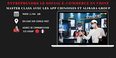 Entreprendre le social E-commerce en Chine. billets