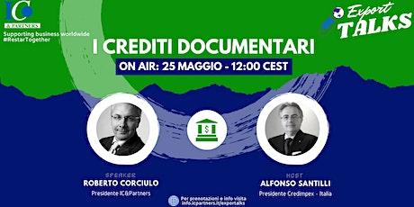 Export Talks - Focus Crediti Documentari biglietti