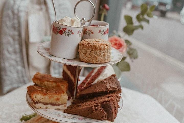Cocktail Afternoon Tea with Heartfelt Vintage image