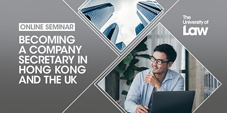 Becoming a Company Secretary in Hong Kong and the UK tickets
