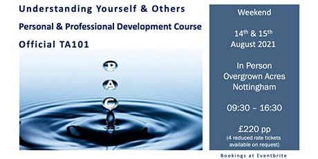 Understanding Yourself and Others - TA101 tickets