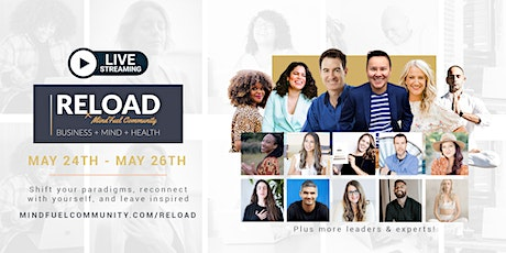 [Online] RELOAD Conference + Retreat For Entrepreneurs & Business Owners tickets