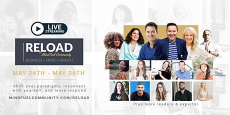 [Online] RELOAD Conference + Retreat For Entrepreneurs & Business Owners entradas