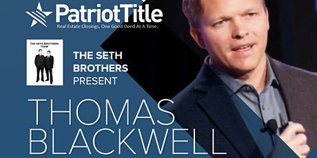 The Seth Brothers Present - Thomas Blackwell tickets