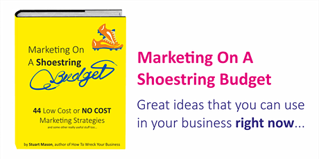 Marketing On A Shoestring Budget tickets