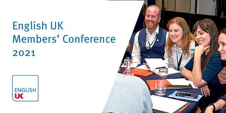 English UK Members' Conference & AGM 2021 entradas
