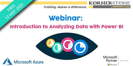Free Webinar: Introduction to Analyzing Data with Power BI tickets