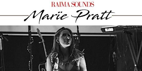 RAIMA SOUND - Marïe Pratt  - Soul/R&B/Pop entradas