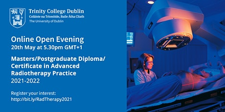 Postgraduate MSc/Cert/Dip in Advanced Radiotherapy Practice - Open Evening tickets