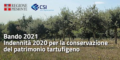 Bando 2021 - Indennità 2020 per la conservazione del patrimonio tartufigeno biglietti