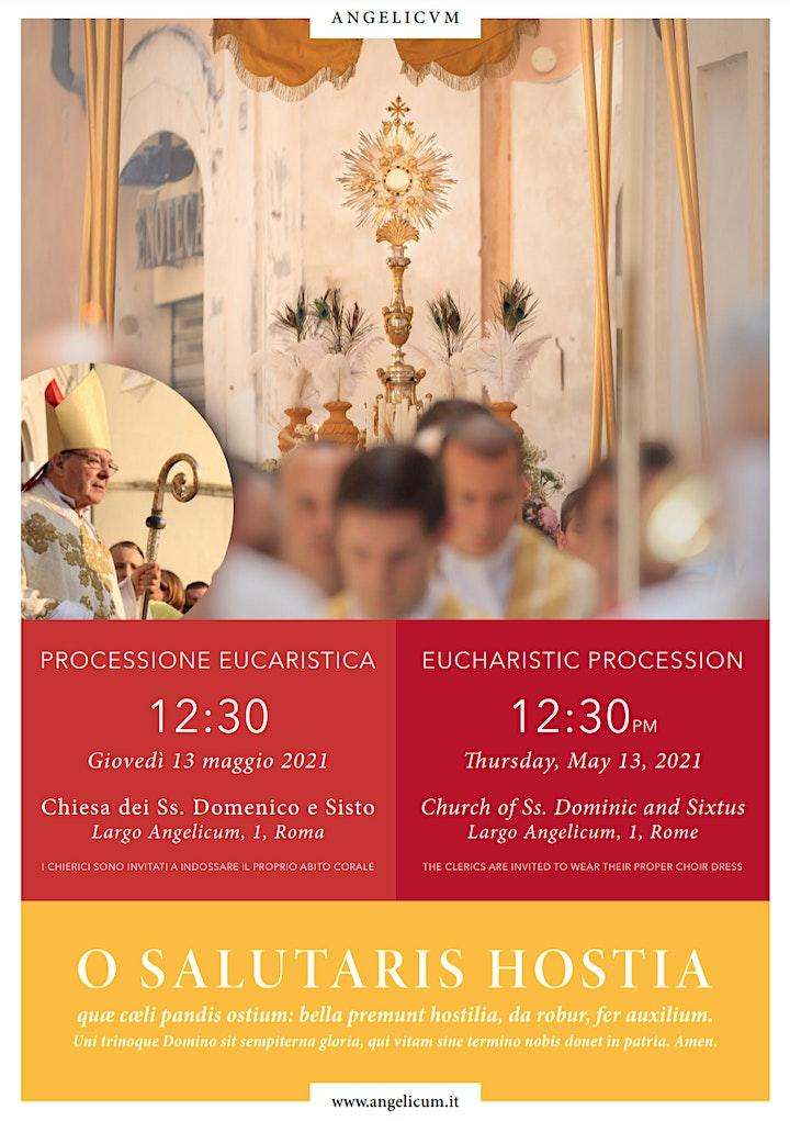 Immagine Annual Eucharistic Procession / Processione eucaristico